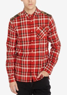 Buffalo Jeans Buffalo David Bitton Men's Regular Fit Plaid Shirt