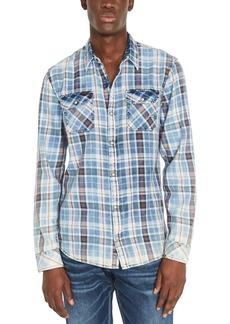 Buffalo Jeans Buffalo David Bitton Men's Sabil Regular-Fit Plaid Shirt