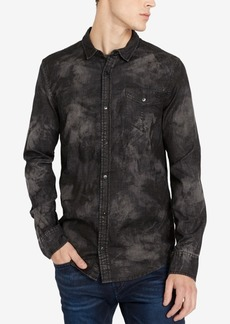 Buffalo Jeans Buffalo David Bitton Men's Sacamer-x Printed Pocket Shirt