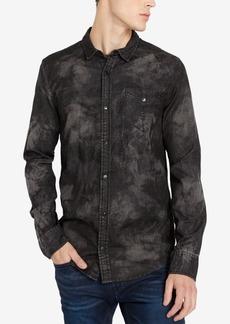 Buffalo Jeans Buffalo David Bitton Men's Sacamer-x Printed Pocket Shirt