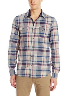 Buffalo Jeans Buffalo David Bitton Men's Sacar Long Sleeve Plaid Woven Shirt