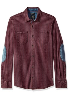 Buffalo Jeans Buffalo David Bitton Men's Sagaw Long Sleeve Full Button Down Shirt