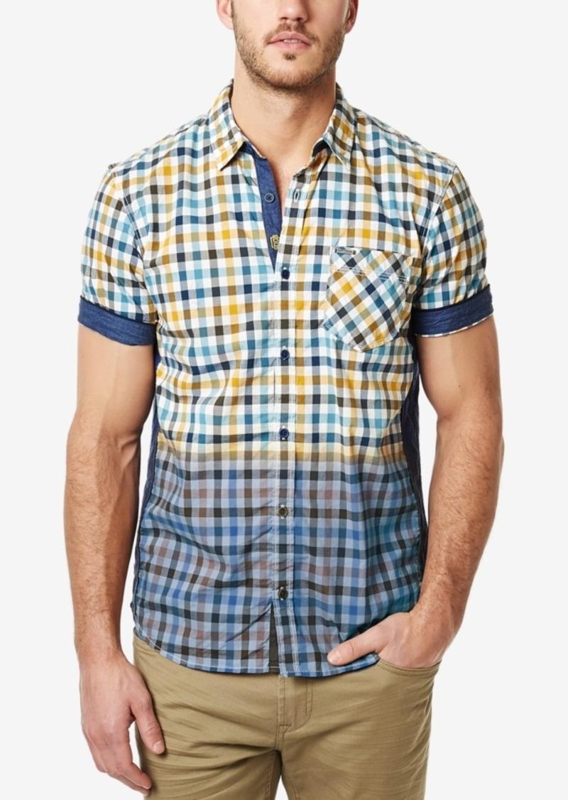 Buffalo Jeans Buffalo David Bitton Men's Sakirn Short-Sleeve Plaid Shirt