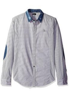 Buffalo Jeans Buffalo David Bitton Men's Salina Long Sleeve Fashion Woven Shirt