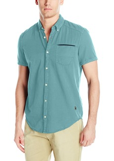 Buffalo Jeans Buffalo David Bitton Men's Sarlo Short Sleeve Fashion Button Down Shirt