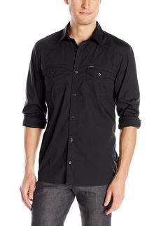 Buffalo Jeans Buffalo David Bitton Men's Saska Long Sleeve Woven Shirt