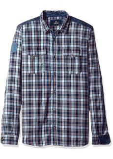 Buffalo Jeans Buffalo David Bitton Men's Sassire Long Sleeve Fashion Woven Shirt