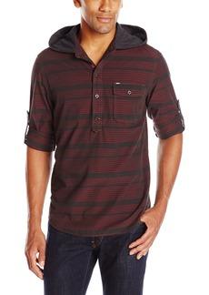Buffalo Jeans Buffalo David Bitton Men's Savir Long Sleeve Pop Over Woven Shirt