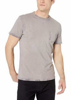 Buffalo Jeans Buffalo David Bitton Men's Short Sleeve Crew Neck Knit with Front Pocket