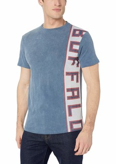 Buffalo Jeans Buffalo David Bitton Men's Short Sleeve Crew Neck Single Jersey Silicon wash