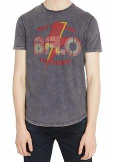 Buffalo Jeans Buffalo David Bitton Men's Short Sleeve Single Garment Dyed & Acid wash Jersey  2 XL