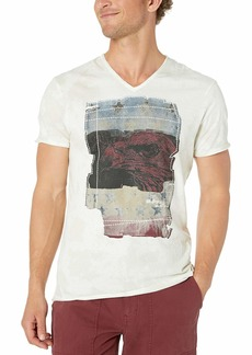 Buffalo Jeans Buffalo David Bitton Men's Short Sleeve v Neck Light Jersey tee
