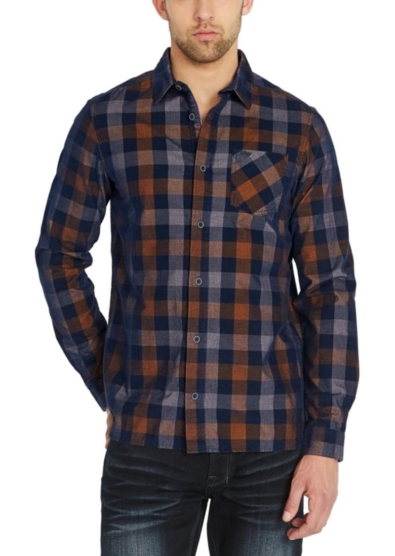 Buffalo Jeans Buffalo David Bitton Men's Sichill Regular-Fit Plaid Shirt