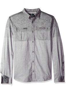 Buffalo Jeans Buffalo David Bitton Men's Sifaro Long Sleeve Fashion Woven Shirt
