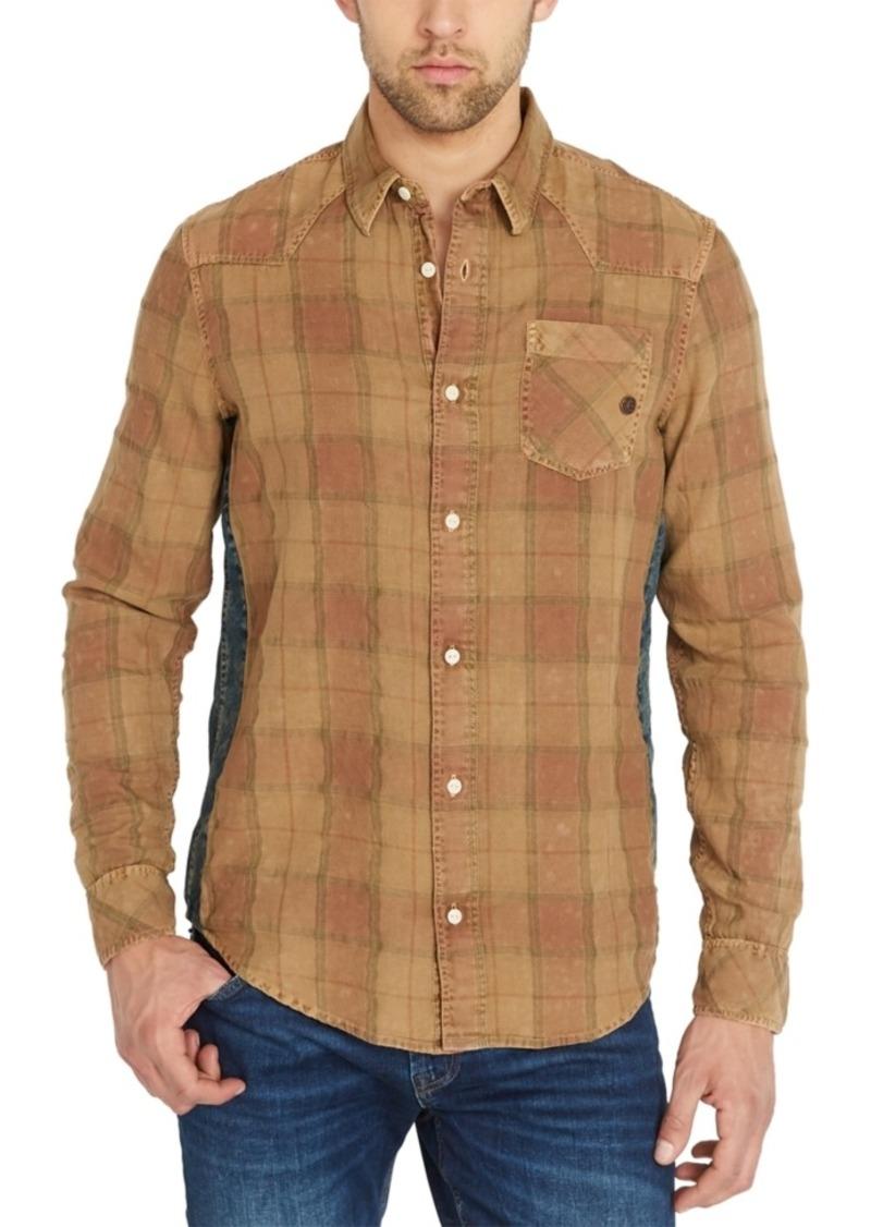 Buffalo Jeans Buffalo David Bitton Men's Siflax Plaid Flannel Shirt
