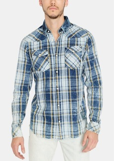 Buffalo Jeans Buffalo David Bitton Men's Sihak Regular-Fit Plaid Shirt