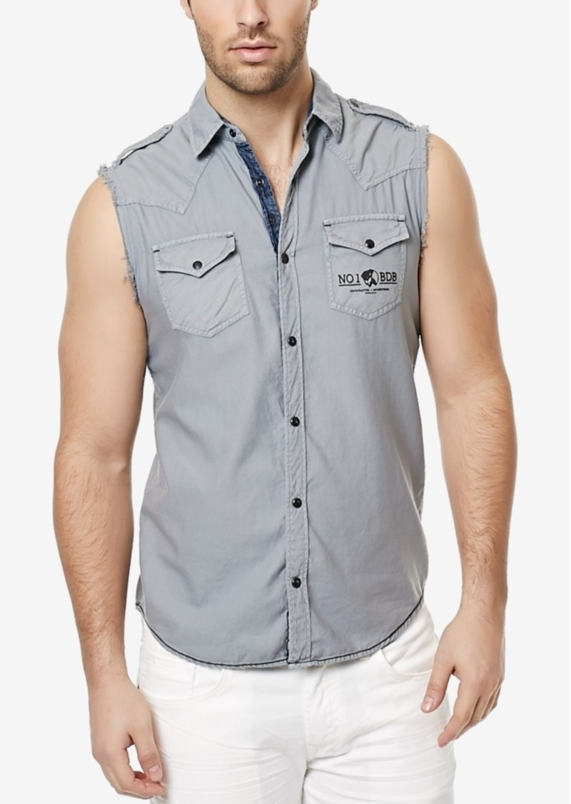 Buffalo Jeans Buffalo David Bitton Men's Sihop Sleeveless Shirt