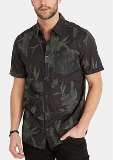 Buffalo Jeans Buffalo David Bitton Men's Sijern Regular-Fit Floral-Print Shirt