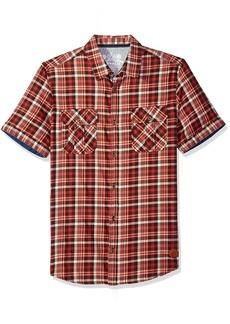 Buffalo Jeans Buffalo David Bitton Men's Sijoulan Stretch Plaid Woven Shirt