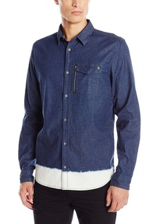 Buffalo Jeans Buffalo David Bitton Men's Sikasto Long Sleeve Fashion Button-Down Shirt