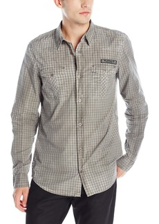 Buffalo Jeans Buffalo David Bitton Men's Sipund Long Sleeve Button Down Shirt