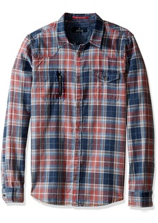Buffalo Jeans Buffalo David Bitton Men's Siwell Long Sleeve Fashion Woven Shirt