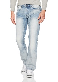 Buffalo Jeans Buffalo David Bitton Men's Six Slim Straight Leg Fashion Denim Jean in 30 Inseam  36 x 32