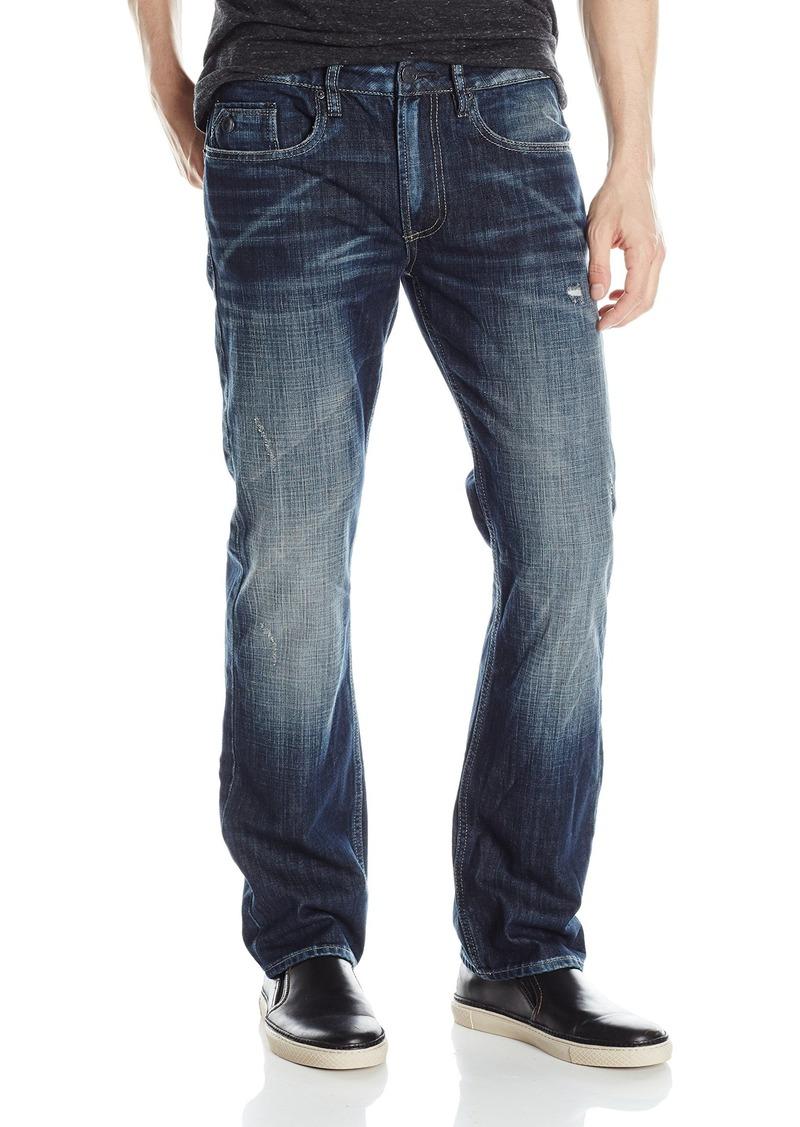 acf09227 Buffalo David Bitton Men's Six Slim Straight Leg Fashion Jean in A  Scratched and Sandblasted Wash 31 x 30. Buffalo Jeans