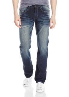 Buffalo Jeans Buffalo David Bitton Men's Six Slim Straight Leg Fashion Jean in a Vintage Wash  36 x 30