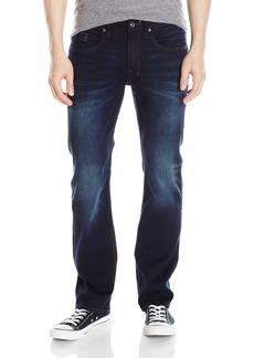Buffalo Jeans Buffalo David Bitton Men's Six Slim Straight Leg Jean Authentic and deep Indigo 36 x 34