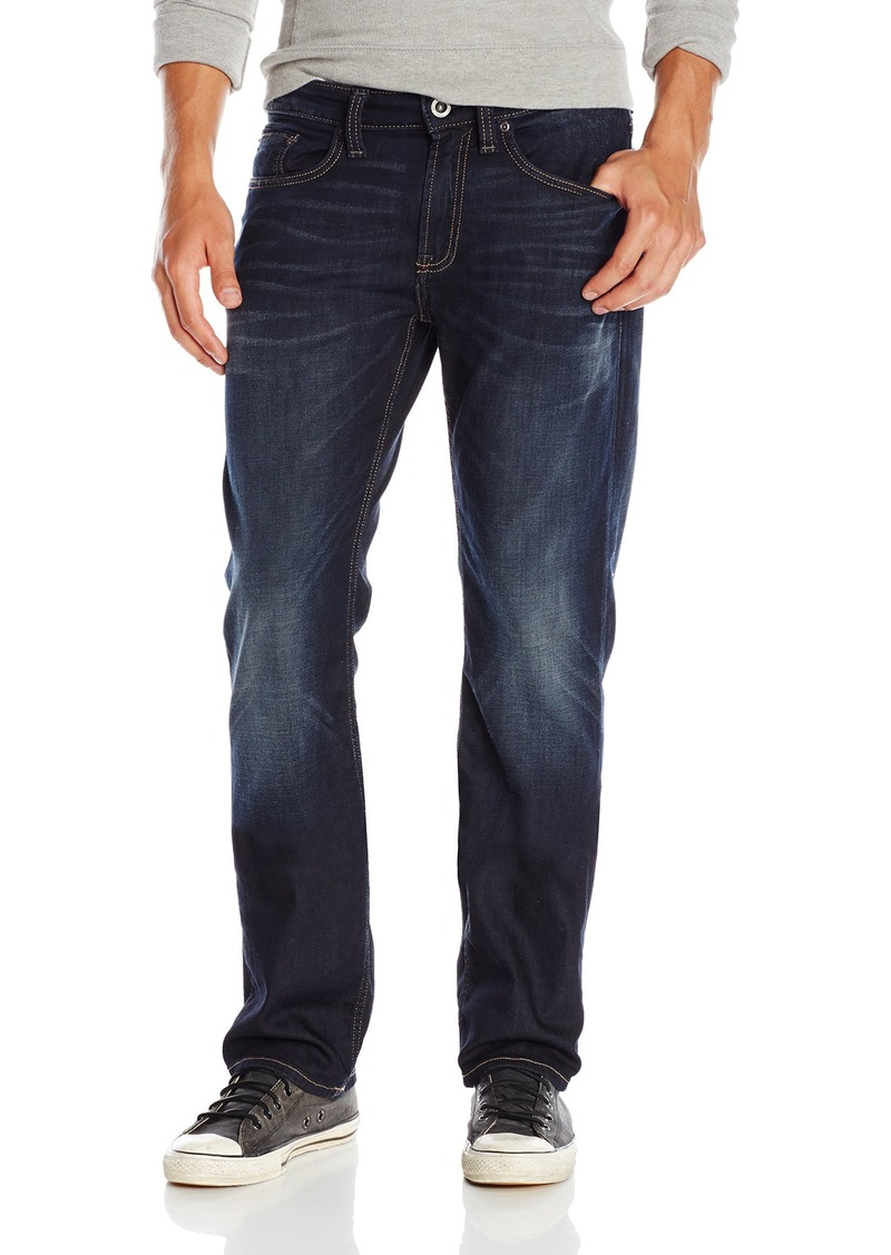 Buffalo Jeans Buffalo David Bitton Men's Six Slim Straight Leg Jean In Dark and Authentic  33x30