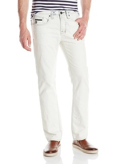 Buffalo Jeans Buffalo David Bitton Men's Six Slim Straight Leg Jean in Lucas Blue  34x32