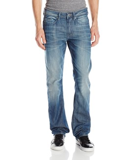 Buffalo Jeans Buffalo David Bitton Men's Six Slim Straight Leg Jean in Lustrous and Sanded 30x30