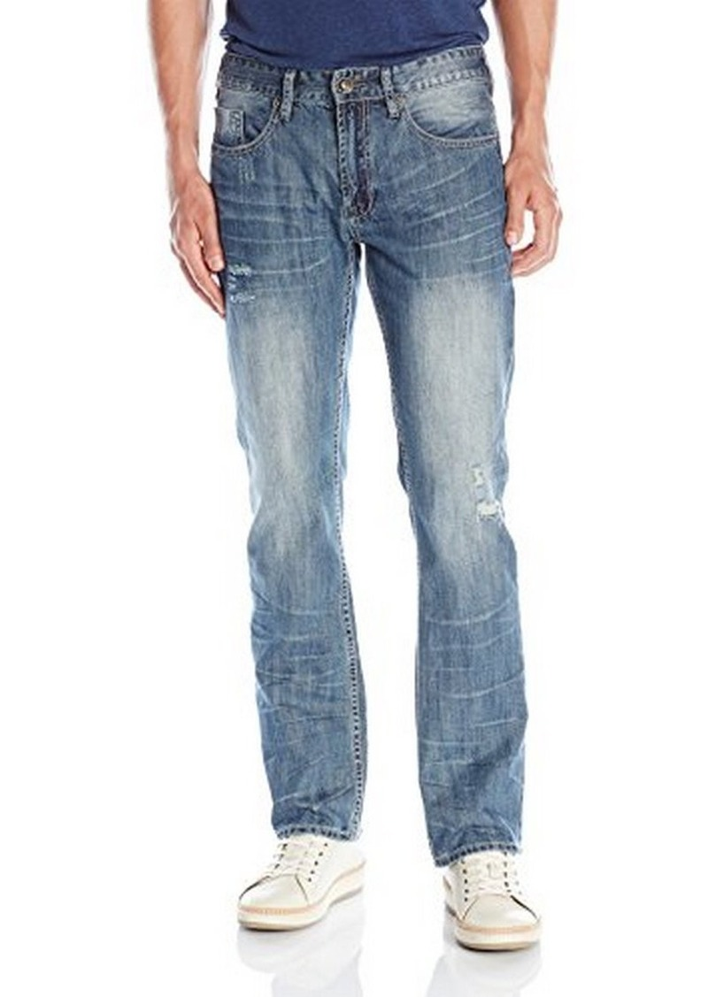 Buffalo Jeans Buffalo David Bitton Men's Six Slim Straight Leg Jean in Rover  34x32