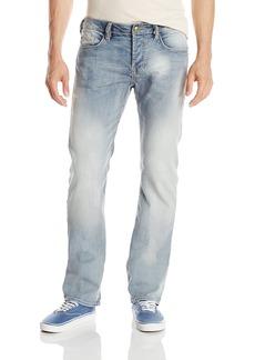 Buffalo Jeans Buffalo David Bitton Men's Six Slim Straight-Leg Jean In  Stretch Denim  40X34