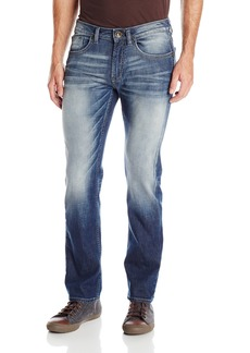 Buffalo Jeans Buffalo David Bitton Men's Six Slim Straight Leg Jean In Washed and Contrasted  32x30