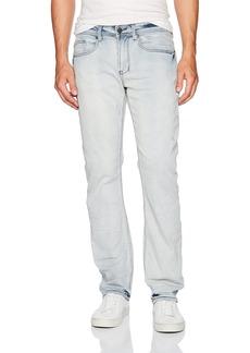 Buffalo Jeans Buffalo David Bitton Men's Six-x Straight Fit Crinkled and Bleached Fashion Denim Pant