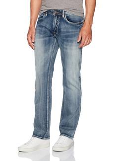 Buffalo Jeans Buffalo David Bitton Men's Six-x Straight Fit Denim Jean  30x34
