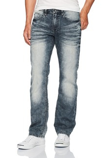 Buffalo Jeans Buffalo David Bitton Men's Six-x Straight Fit Denim Pant  33x32