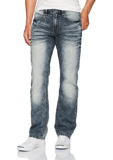 Buffalo Jeans Buffalo David Bitton Men's Six-x Straight Fit Denim Pant  38x34