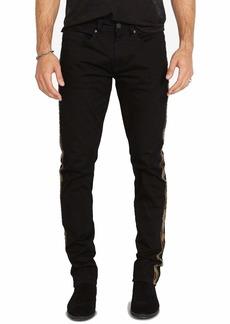 Buffalo Jeans Buffalo David Bitton Men's Slim ASH Jeans Black camo Stripe