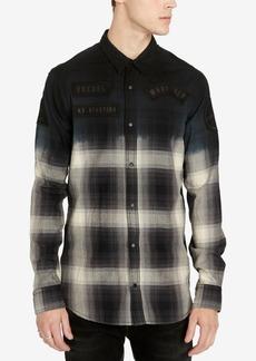 Buffalo Jeans Buffalo David Bitton Men's Slim Fit Plaid Silvont Shirt
