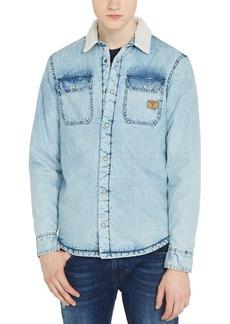 Buffalo Jeans Buffalo David Bitton Men's Soelv Plaid Shirt Jacket