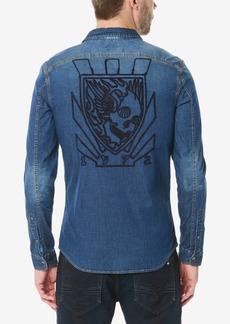Buffalo Jeans Buffalo David Bitton Men's Somitel Woven Denim Shirt