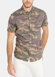 Buffalo Jeans Buffalo David Bitton Men's Sopav Camo Shirt