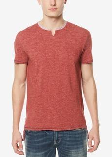 Buffalo Jeans Buffalo David Bitton Men's Split-Neck T-Shirt