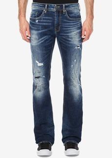 Buffalo Jeans Buffalo David Bitton Men's Straight Bootcut-Fit Ripped Stretch Jeans