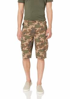 Buffalo Jeans Buffalo David Bitton Men's Stretch Twill Army Green camo Shorts  W