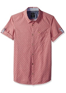 Buffalo Jeans Buffalo David Bitton Men's Suton Short Sleeve Button Down Shirt