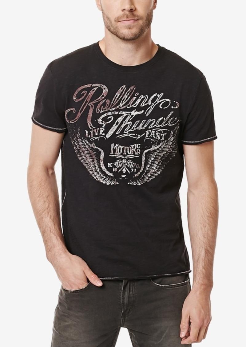 Buffalo Jeans Buffalo David Bitton Men's Tamber Graphic-Print T-Shirt